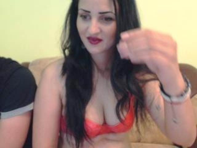 Julietandgiov Live Swallow Couple Green Eyes Trimmed Pussy